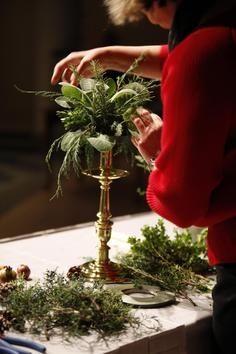 Preparations for the festive season ..............A