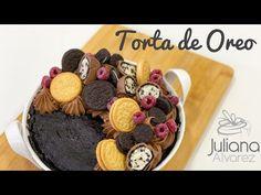 Torta de Oreo Con Solo Dos Ingredientes - YouTube Oreo Torta, Acai Bowl, Cereal, Cupcakes, Breakfast, Youtube, Friends, Videos, Food