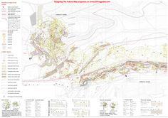 PFC Seleccionado | DTF Magazine |Revista de arquitectura y PFC'S Urban Fabric, Topographic Map, Madrid, Vintage World Maps, Country Houses, Journals