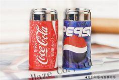 2 Pcs kid gift Coke shape pencil sharpener + eraser 2in1 creative stationery #youpai