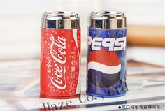 2 Pcs kid gift Coke shape pencil sharpener + eraser 2in1 creative stationery #youpai