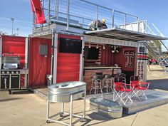 "So I think I need this... And by two Texas Tech grads. How cool is that?! ""The future of tailgating..."