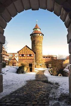 Sinwellturm auf der Kaiserburg, Nürnberg