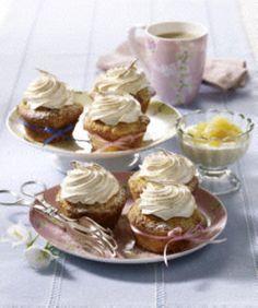 Das Rezept für Apfel-Muffins mit Baiserhaube und weitere kostenlose Rezepte auf LECKER.de