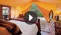 glamping - The Resort at Paws Up . .want to go