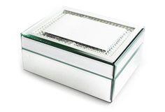 "7"" Euan Mirrored Jewelry Box"