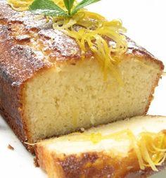 עוגת לימון בחושה