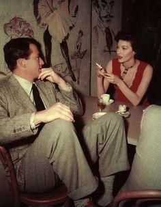 Gregory Peck & Ava Gardner