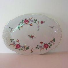 Vintage China Platter  Poland China  Wawel by heritagegeneralstore, $26.99