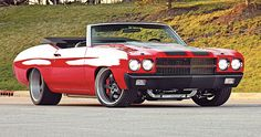 '70 Chevelle Pro-Touring Roadster. Awesome American Muscle Car!