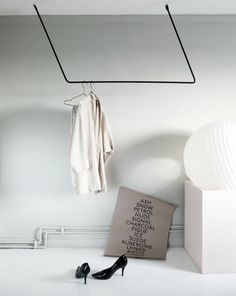T.D.C | New clothes hanger by Annaleena Leino
