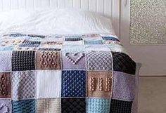 [Free Pattern] A Textured Blanket With A Heartwarming Story