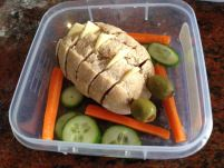 Healthy school lunches | Simple Crafty Life  A gallery of recent school lunches I have sent with my kids to pre-school. These are quick and easy, and sometimes fun to make, like the bread roll creature :)