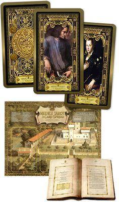 Medici Tarot by Londa R. Tarot Cards, Wave, Cards, Tarot Card Decks, Tarot, Tarot Spreads