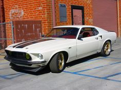 1969 Ford Mustang Front Angle - Fast & Furious 6 Car