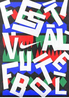 HORT's designs for Nike's football festival | Graphic design | Creative Bloq