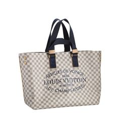 New baby! Oh how I LOVE thee!!!! Google Image Result for http://www.purchase-handbags.net/UploadFile/Damier-Azur-Canvas/Louis-Vuitton-Damier-Azur-Canvas-Cabas-GM-N41180.jpg