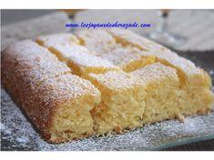 moelleux au citron No Cook Meals, Cornbread, Vanilla Cake, Tea Time, Biscuits, Muffins, Dessert Recipes, Lemon, Menu
