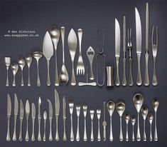 I think thats the lot!  My Robert Welch, Old Hall, Alveston cutlery.