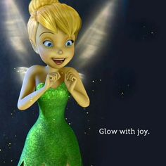 Fairies are princesses too.  Tinkerbell My favorite!  :)