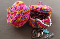 Ravelry: Crochet Jewelry Bowl pattern by Paula Daniele