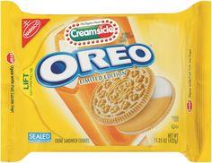Nabisco, Oreo, Limited Edition, Orange Creamsicle Sandwich Cookies, Bag (Pack of Weird Oreo Flavors, Cookie Flavors, Sandwich Cookies, Oreo Cookies, Candy Corn Oreos, Gourmet Recipes, Snack Recipes, Cupcake Recipes, Nabisco Oreo