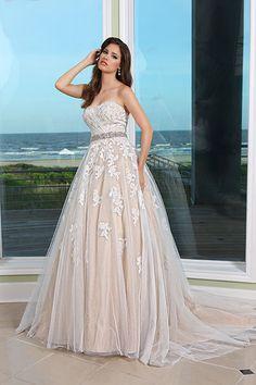 Mikaella wedding dress style 15511