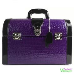 Purple Crocodile Sex Toy Storage Playchest $119  http://www.fantasticvibes.com/product/devine-crocodile-sex-toy-storage-chest-purple