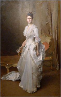 John Singer Sargent - Portrait of Margaret Stuyvesant Rutherfurd White