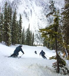 How to spend a weekend in Nelson, B. - ski Whitewater Ski Resort, eat delicious food and soak at Ainsworth Hot Springs. Amazing Destinations, Travel Destinations, Alaska Highway, Travel Inspiration, Travel Ideas, Winter Fun, Travel Information, Rocky Mountains, Vacation Trips