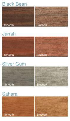 ModWood Composite Decking Colour Range