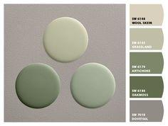 Green Paint Colors, Interior Paint Colors, Paint Colors For Home, Room Colors, Wall Colors, Vintage Paint Colors, Interior Design, Farmhouse Paint Colors, Kitchen Paint Colors