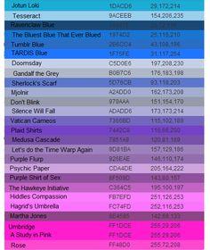 Bluish Purple Color Names Next Image