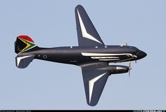 "South African Air Force Douglas (AMI) Turbo Dakota 6840 ""Gooney Bird"" performing a display during the Africa Aerospace & Defence Expo at Pretoria-Waterkloof, September (Photo: Andre Kok) Bomber Plane, Jet Plane, Douglas Dc3, South African Air Force, Bush Plane, Pilot, Aircraft Painting, Aircraft Pictures, Nose Art"