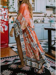 Spell Gypsy Cherry Blossom Kimono S/M Mode Gipsy, Mode Hippie, Bohemian Mode, Bohemian Style, Bohemian Gypsy, Gypsy Style, Hippie Chic, Hippie Style, Bohemian Print