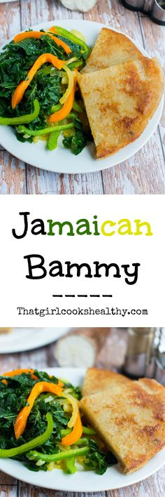 Jamaican bammy (vegan style) paleo and gluten free