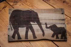 Elephant art Pallet art Elephant painting Wooden sign Rustic wall decor Outdoor art Unique gift Wooden wall hanging Simply Pallets Rustic by SimplyPallets on Etsy https://www.etsy.com/listing/217821331/elephant-art-pallet-art-elephant
