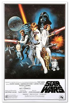 Ep4 Star Wars A New Hope. The one that started it all! Stolen plans to the Empires new super weapon, The Death Star, are hidden inside R2-D2 and our heroes must do all they can to get the plans back to the Rebel Alliance and take out The Death Star before its too late.
