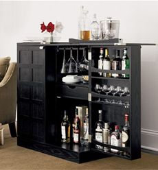 Steamer Bar Cabinet - someday Iu0027ll be able to keep all my liquor tucked  away!
