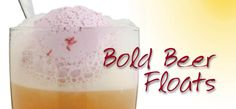 Bold #Beer #Floats! Ditch the #rootbeerfloat for one of these tempting treats! #foodie #recipe #dessert #YUM #craftbrew #craftbeer