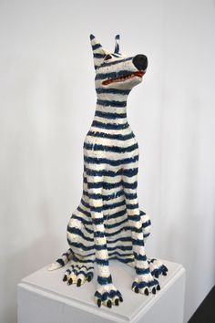 Ceramics Annual of America 2012, San Francisco.  Artist, Jeff Downing, photo, Linda Fahey