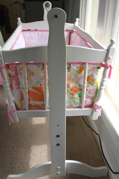 Black And White And Loved All Over: Stuff I Made: Bassinet Bumper