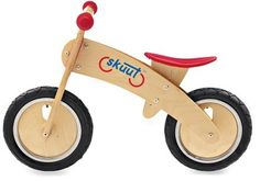 wooden balance bike-no pedals or training wheels-kids transition right to a 2-wheeler