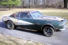 1968 Camaro: Period Mods And Rust Camaro Iroc, 1968 Camaro, Chevrolet Camaro, Chevelle Ss, Junkyard Cars, Chevrolet Dealership, Car Barn, Corvette For Sale, Rusty Cars