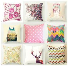 The one with the cute throw pillows.