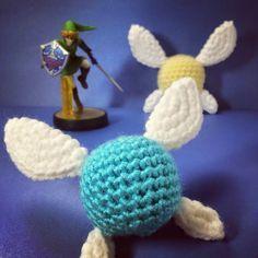 Crochet legend of Zelda Navi