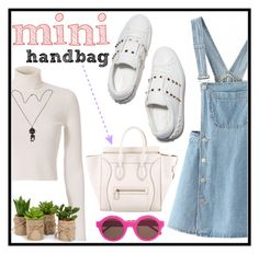 """mini handbag"" by erliza on Polyvore featuring A.L.C., WithChic, CÉLINE and Preen"
