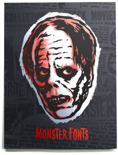 House Industries Monster Fonts Print