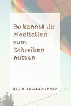 Hätte mir jemand vor einem Jahr gesagt, dass ich meditieren würde, ich hätte ihn für verrückt gehalten. Meditation, das ist doch das, wo man seine Gedanken fliegen lassen soll! Ich will meine Gedanken aber festhalten. Ich tue alles dafür, damit mir kein Gedanken entgleitet, springe nachts aus dem Bett, um etwas aufzuschreiben oder spreche während...Read More »