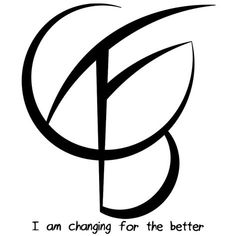 I am changing for the better sigil is great! I tattooed it on my body after activating the sigil in a ritual Wiccan Symbols, Magic Symbols, Symbols And Meanings, Cool Symbols, Unique Symbols, Protection Sigils, Symbole Protection, Henne Tattoo, Symbolic Tattoos